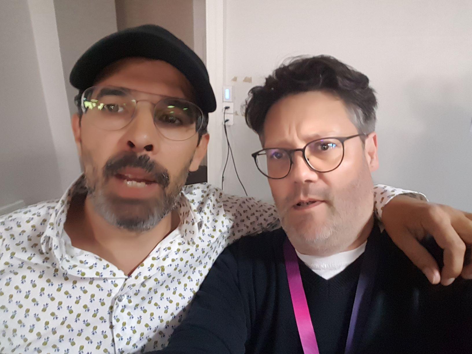 Paul Sanches et Laurent Douis